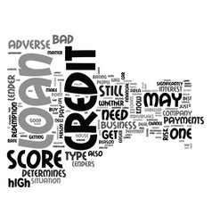 What you need to know about adverse credit loans vector