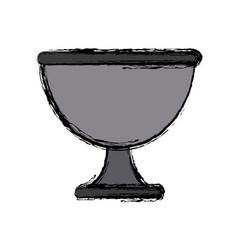 Chalice cup symbol vector