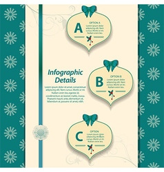 Christmas infographic vector