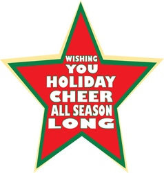 Holiday cheer season vector