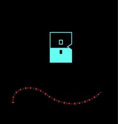 letter B-01 vector image