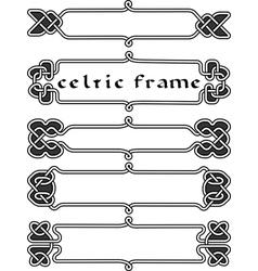Set celtic frame vector