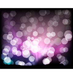 abstract background lights vector image