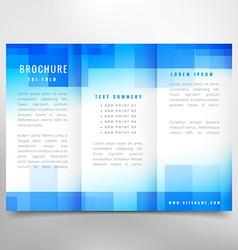 Trifold brochure vector