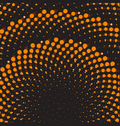 Geometric flower background dot ornament vector