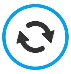 Refresh Flat Icon vector image