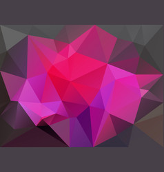 abstract irregular polygon background with a vector image vector image