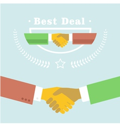 Best deal vector image