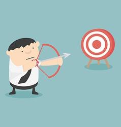 Get Target cartoon vector image vector image