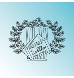 Film award design vector
