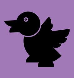 duck Flat vector image