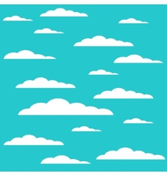 modern cloud design background vector image vector image