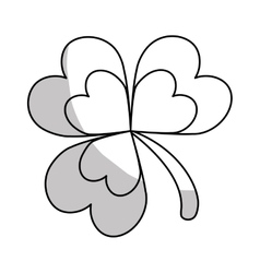 clover icon image vector image vector image