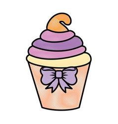 Cupcake icon image vector