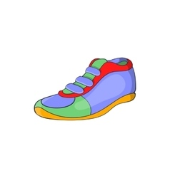Sport shoe icon cartoon style vector image vector image