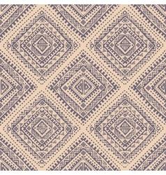Tribal vintage ethnic seamless vector image