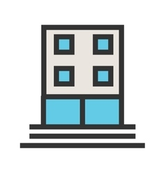 Office building vector