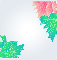 Abstract digital geometric background with place vector