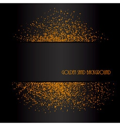Golden sand abstract background vector