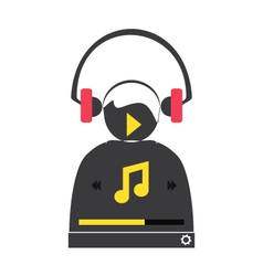 Music player 48 vector