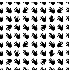 Seamless pattern brush vector