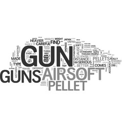 what you need to know about airsoft guns text vector image