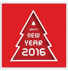Happy new year 2016 greeting card3 vector