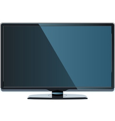 Big Flat Monitor vector image