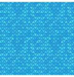 Blue seamless abstract triangles background vector image vector image