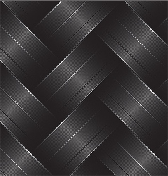 carbon fiber black vector image
