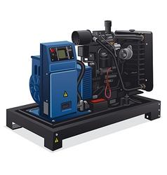 Diesel generator vector
