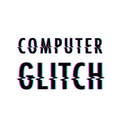 computer glitch background vector image vector image