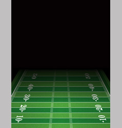 American football field background template vector