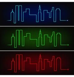 City pulse vector