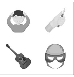 Entertainment medicine sport and other web icon vector