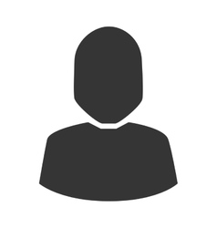 Profile avatar social user person icon vector