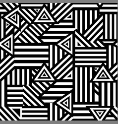 Stylish graphic seamless background vector