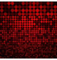 Abstract dark red circles seamless pattern vector image