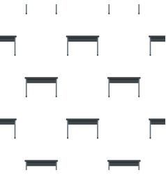 Black desk pattern flat vector