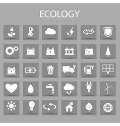flat color icons set and graphic design vector image vector image
