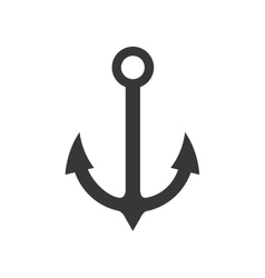 Anchor sea lifestyle nautical icon graphic vector