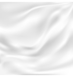 Abstract texture white silk vector