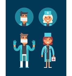 Medicine Concept Doctor Surgeon Emergency vector image