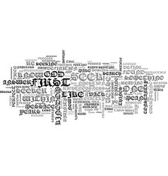 An offer you can t refuse text word cloud concept vector