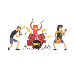 Rock band vector