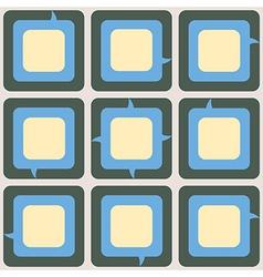 Talk box pattern vector
