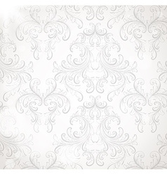 Seamless Vintage Wallpaper vector image