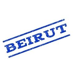 Beirut Watermark Stamp vector image vector image