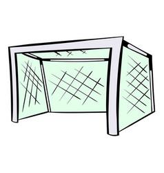 football gate icon icon cartoon vector image vector image
