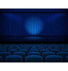 Theater hall vector